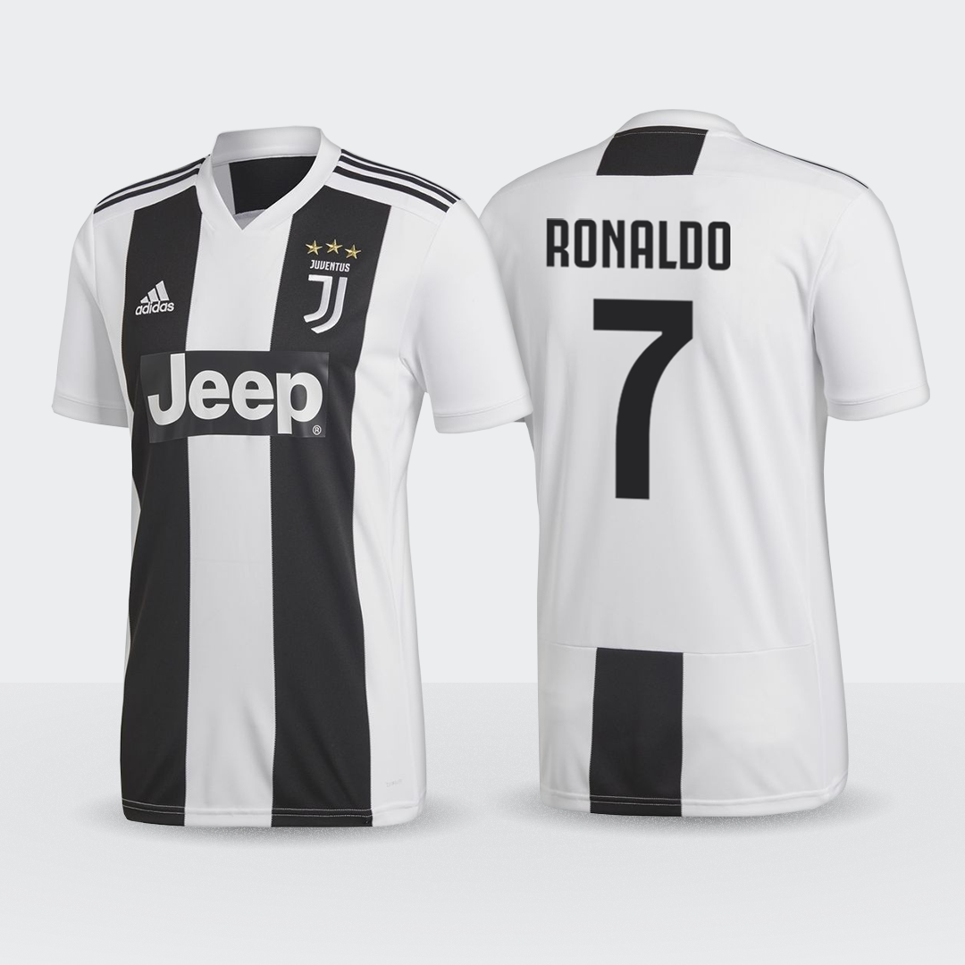 a8f80c333 JUVENTUS 18 19 NOW WITH RONALDO 7 PRINTING Buy now at nzsoccershop.co.nz  Following confirmation of Juventus  signing of Cristiano Ronaldo the new  2018-19 ...