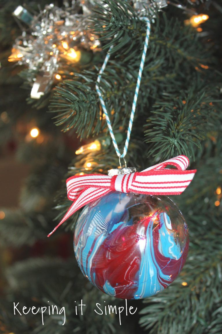 Nail Polish Dipped Christmas Ornaments Christmas Pinterest