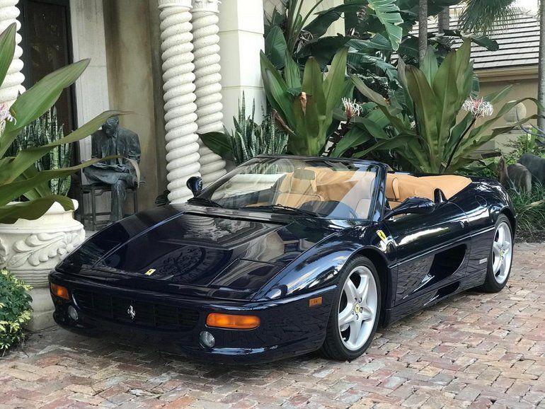 1999 Ferrari F355 Spider F1 Ferrari Super Cars Classic Cars