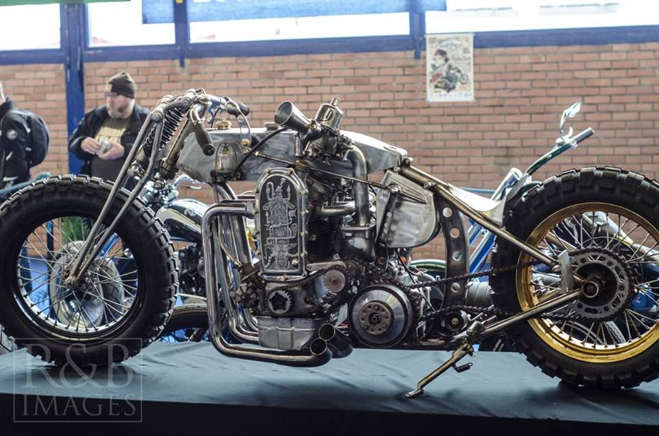 Pecquencourt custom show 2016 NSU 4 cylinder car engine