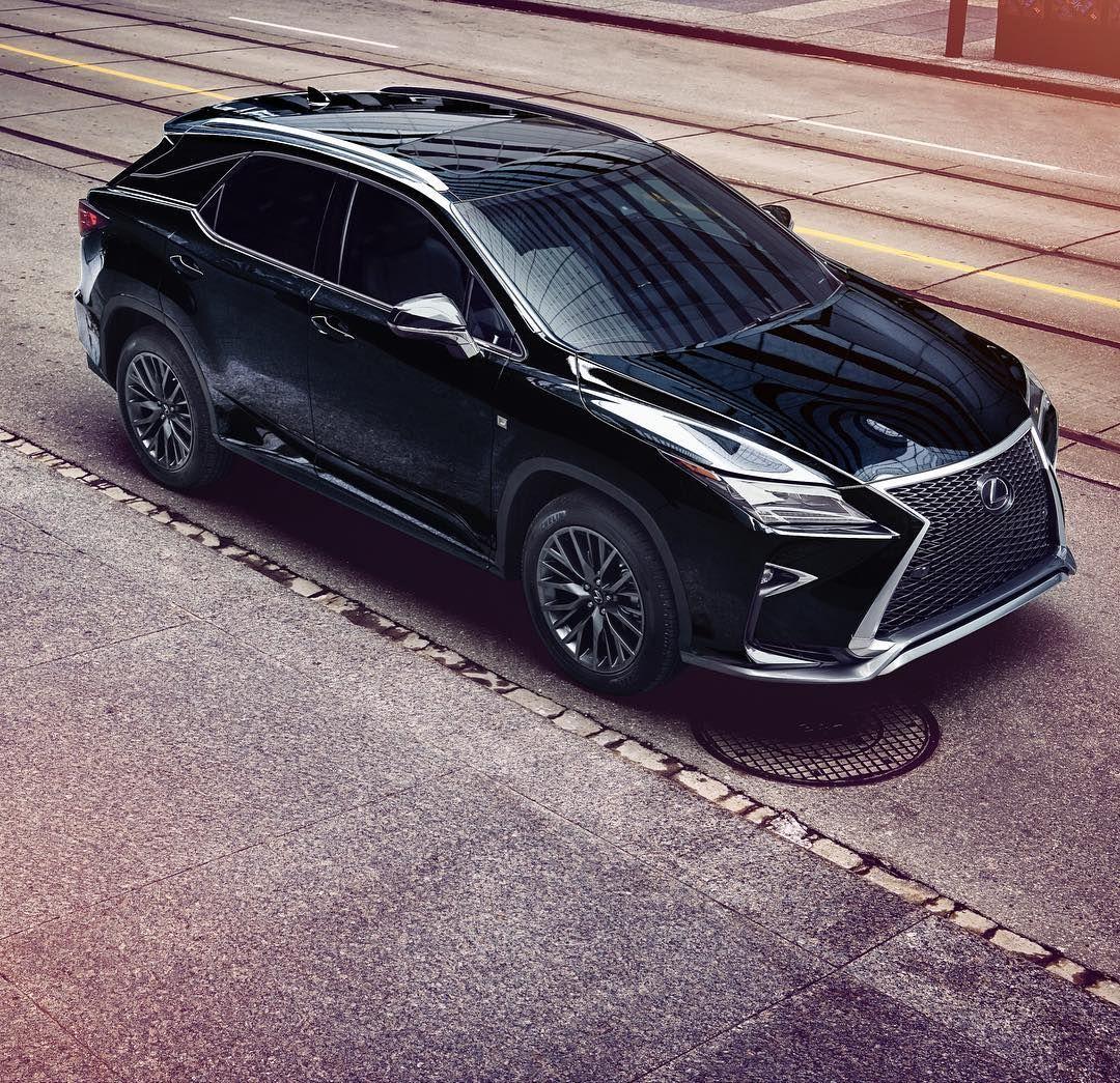 Black Is The New #black. #LexusRX F SPORT