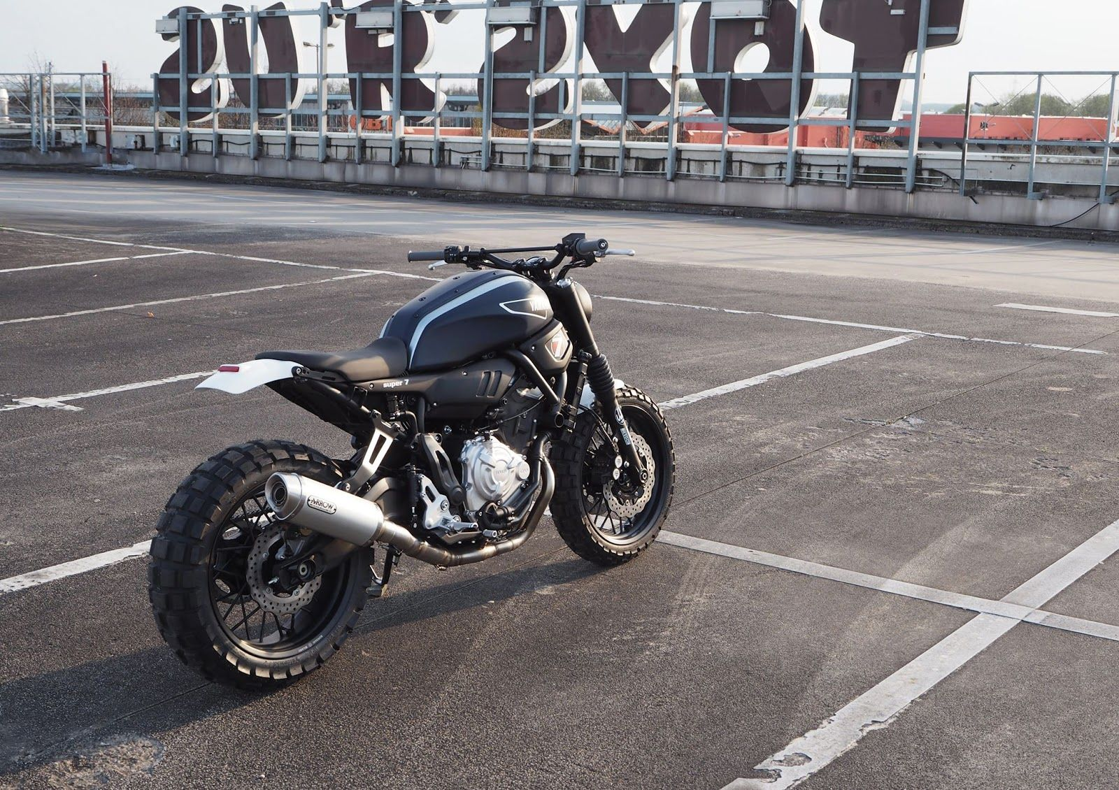 Super 7 Scrambler XSR700 By JVB Moto