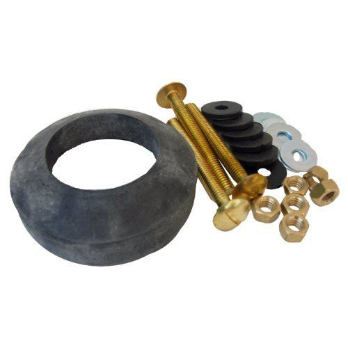 Lasco 04 3809 Toilet Tank To Bowl Bolt Kit Brass Bolts With Washers Hex Wing Nuts Gasket For Norris Or Mansfield Toilets By Lasco 9 97 From The Manufactur