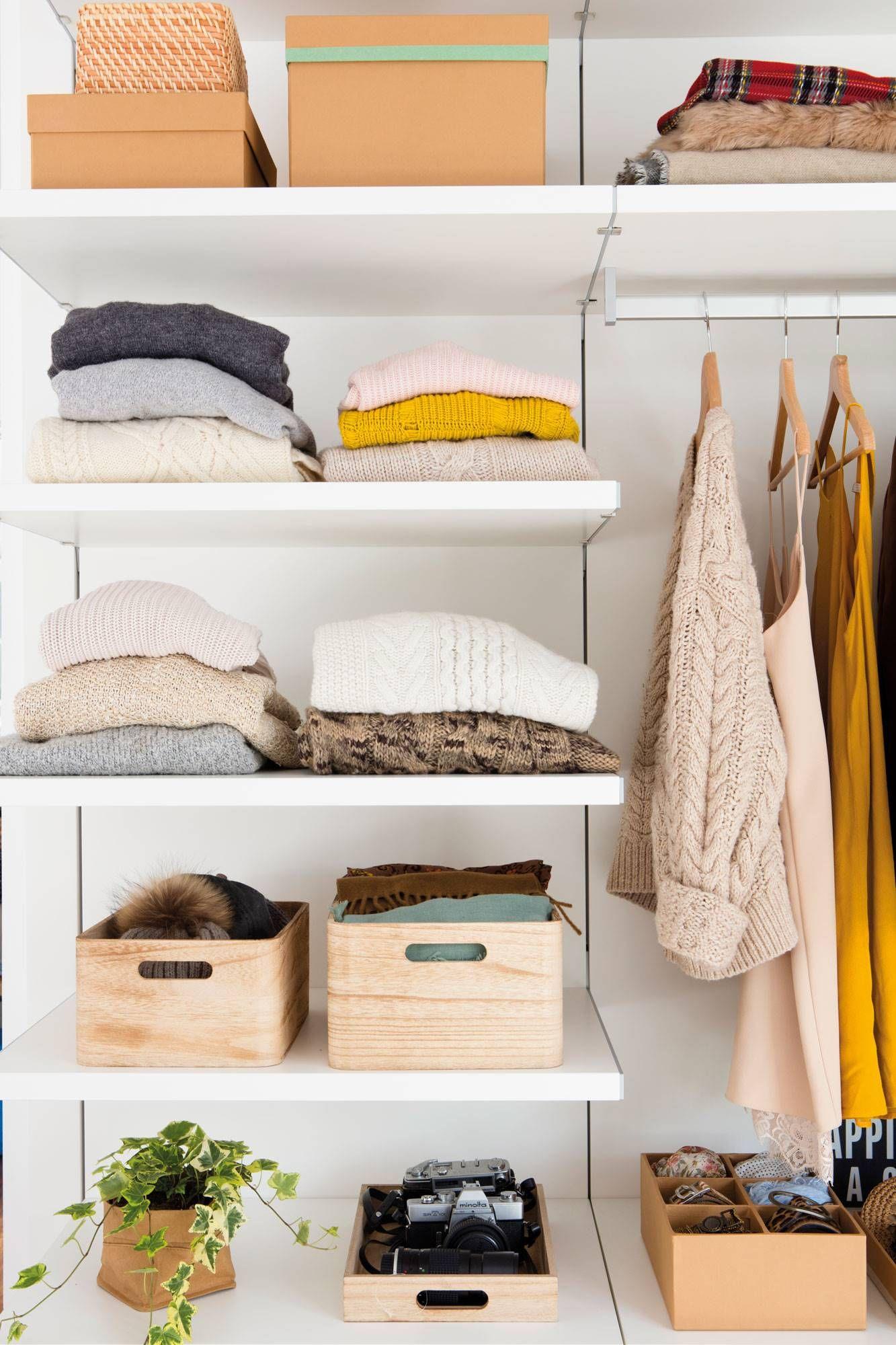 Distribucion Interior De Armarios Y Medidas Para Cada Tipo De Prenda Interiores De Armarios Mueble Para Ropa Diseno De Armario Para Dormitorio