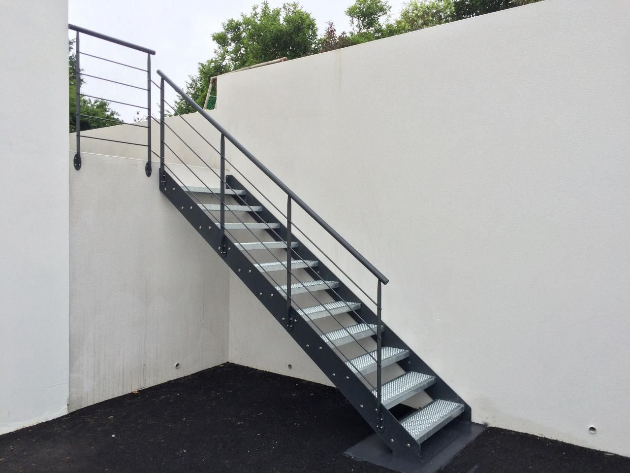 Escalier Metallique Industriel Art Metal Concept Rahhou