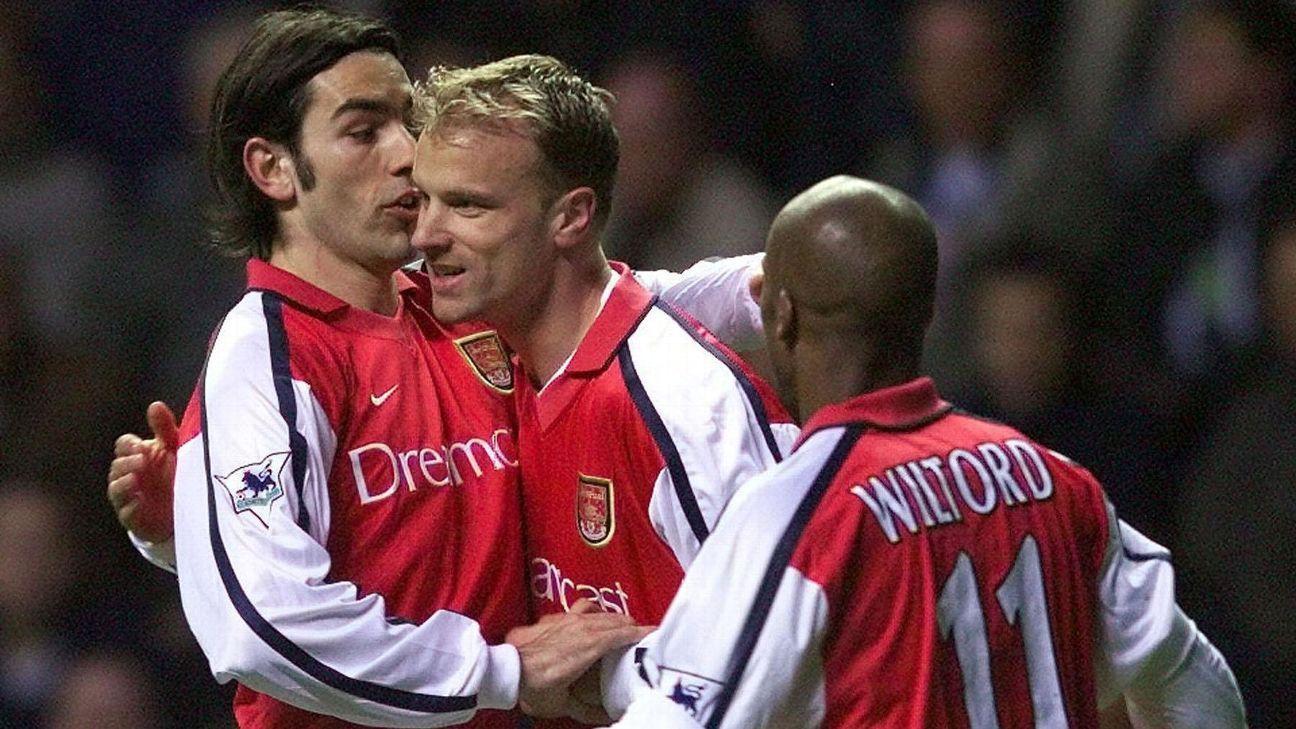 Arsenal Legend Dennis Bergkamp S Iconic Goal Vs Newcastle Will Never Be Forgotten But 15 Years Later Is It Still Dennis Bergkamp Premier League Goals Arsenal