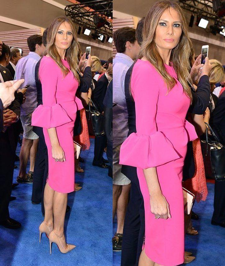 Pin On Melania Trump Style