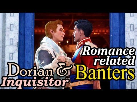 Dragon Age Inquisition Party Banter On Dorian Inquisitor Romance Dragon Age Romance Dragon Age Dragon Age Series