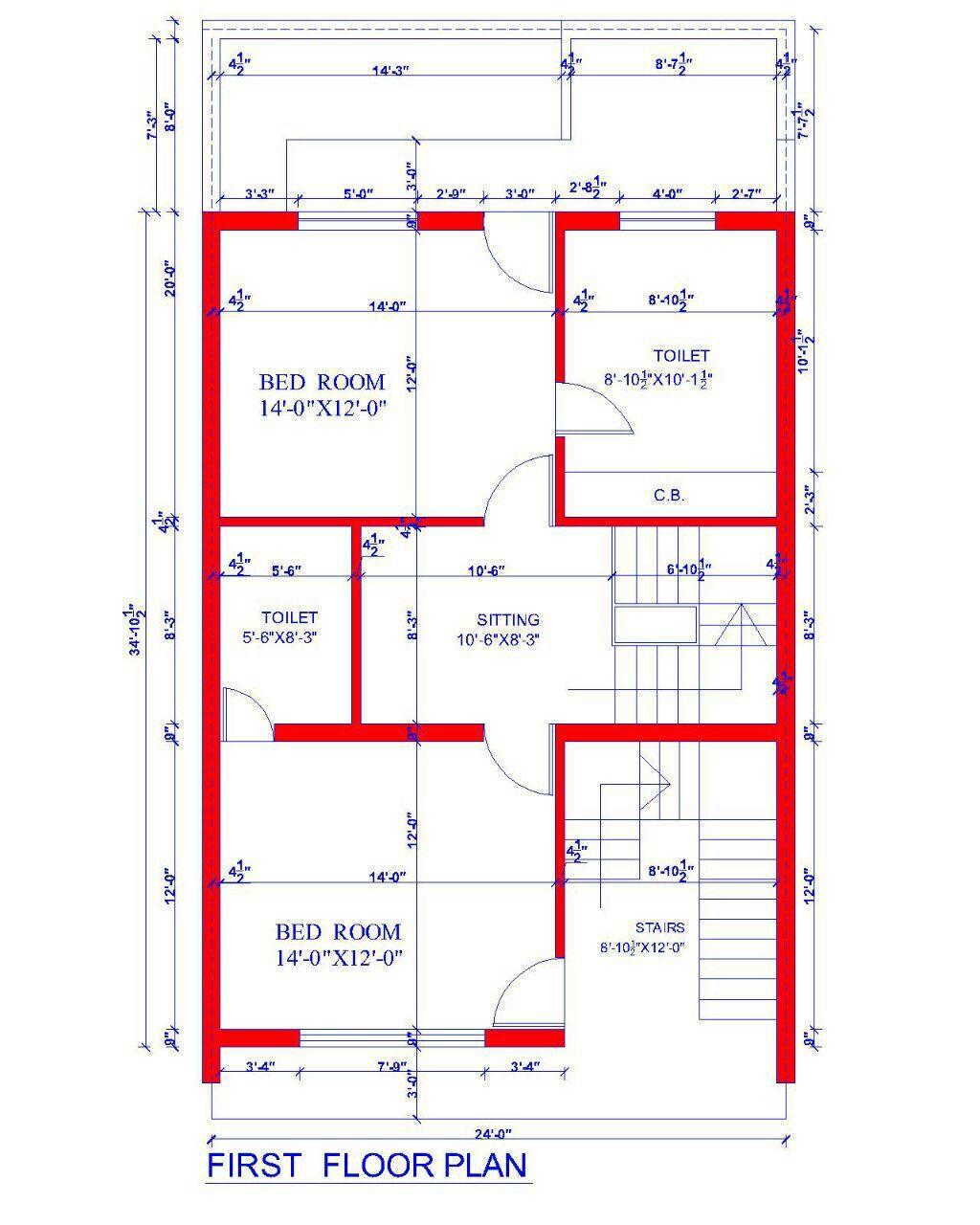 File house plan for feet by plot lovely design in bedroom plans pinterest also rh