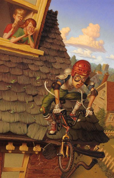o refugio da imaginacao por peter ferguson painting illustration illustration art illustration character design