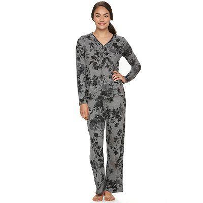 Women s Apt. 9® Pajamas  Satin Trim Pajama Set  ec9dae54a