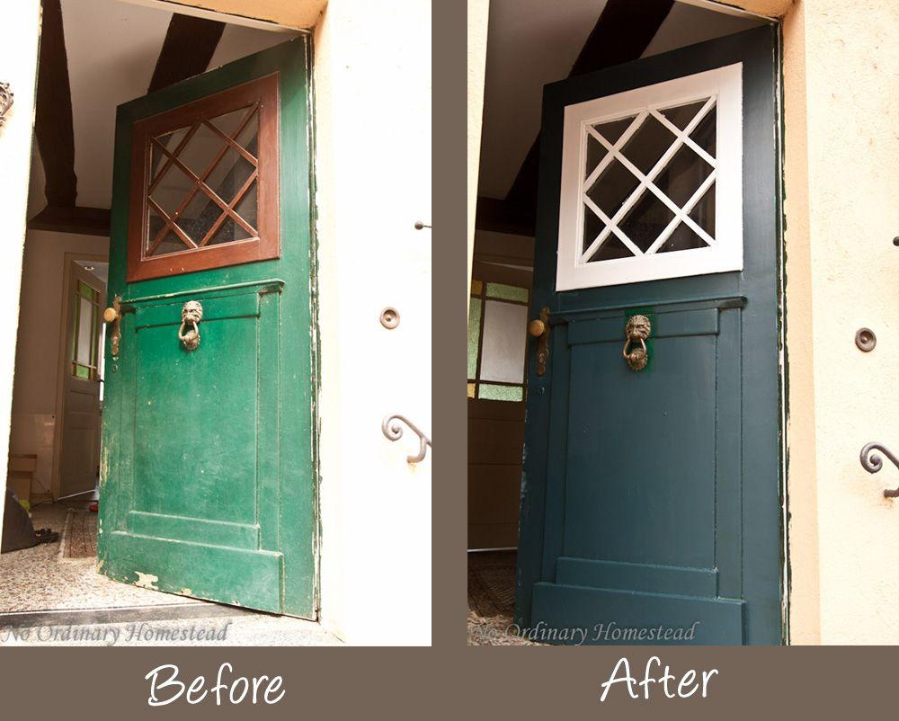 Repainting Doors & DIY Painted Door Ideas @Remodelaholic