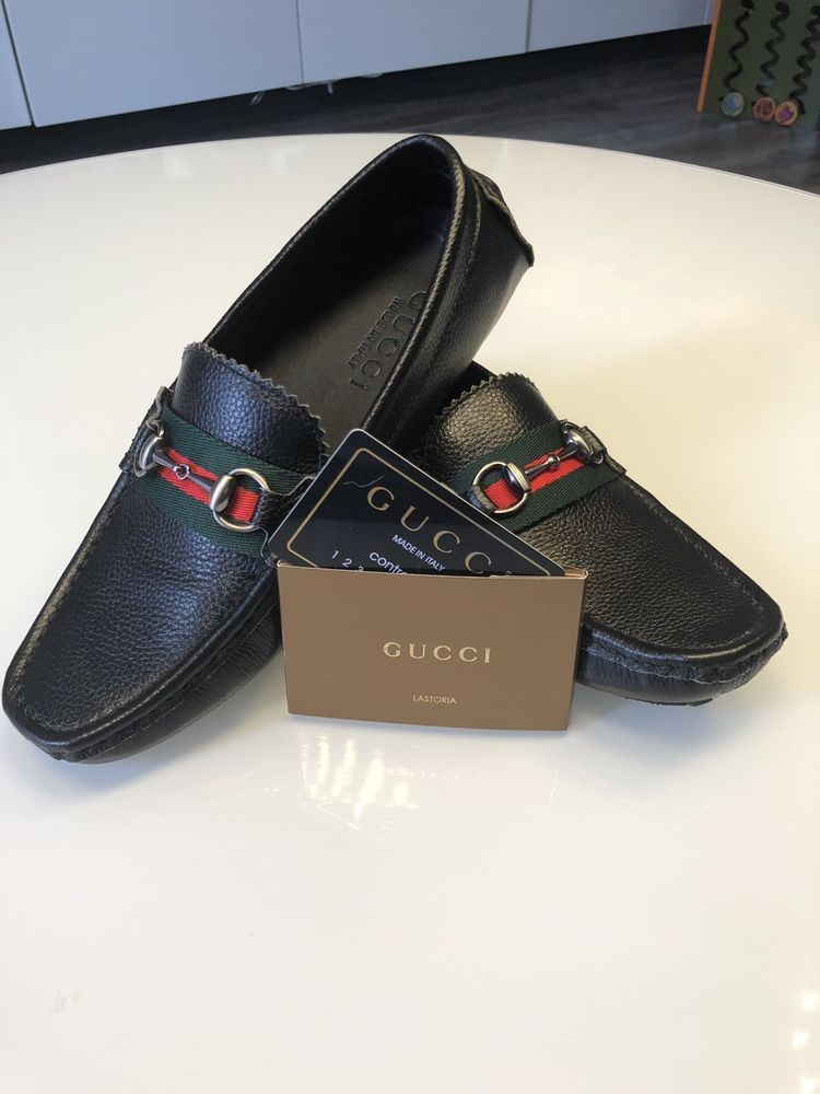 1c64c8bc67c New Mens 7 Leather Gucci moccasins Shoes  fashion  clothing  shoes   accessories  mensshoes  casualshoes (ebay link)