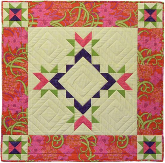 quilt wall hanging patterns | Fair Play Wall Hanging by Fiber ...