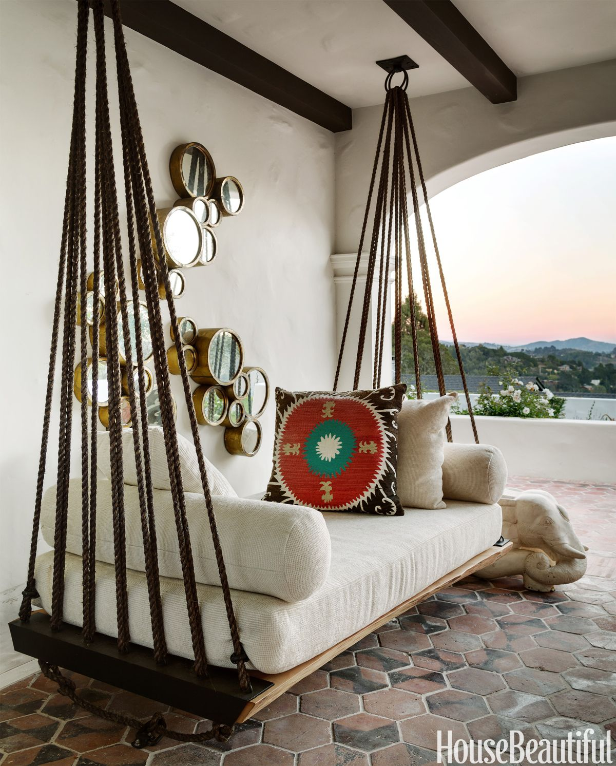 Best Indoor Hanging Swing Daybeds Excellent Home Design 400 x 300