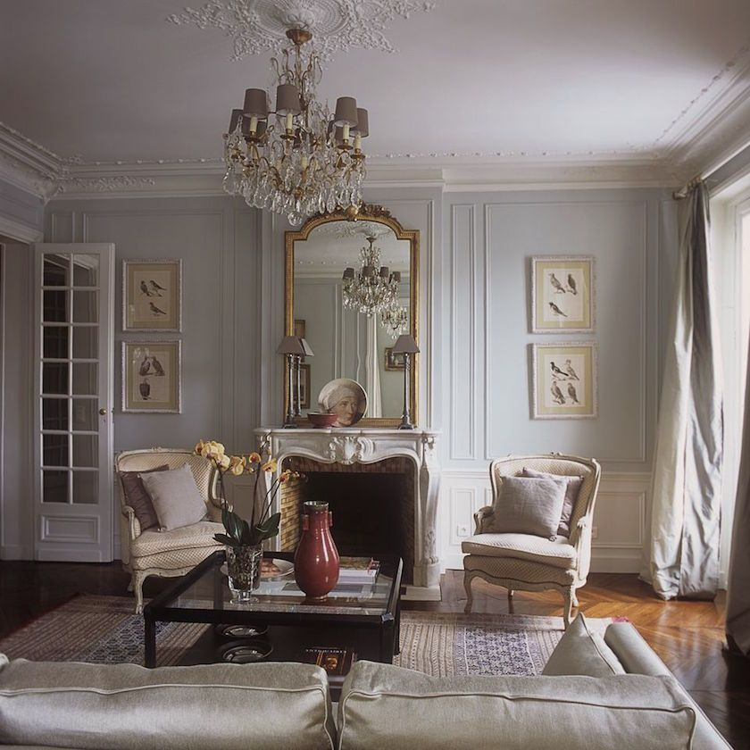 Small Country Living Room Ideas: Beautiful French Furnishings