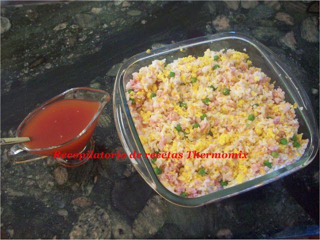 Recopilatorio de recetas : Arroz 3 delicias Thermomix