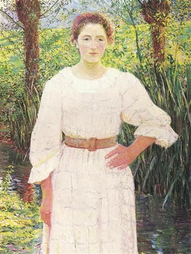 By the Brook - Lilla Cabot Perry