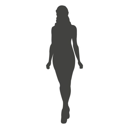 Woman Walking Front Silhouette Ad Affiliate Ad Walking Front Silhouette Woman Silhouette Silhouette Png A Level Art