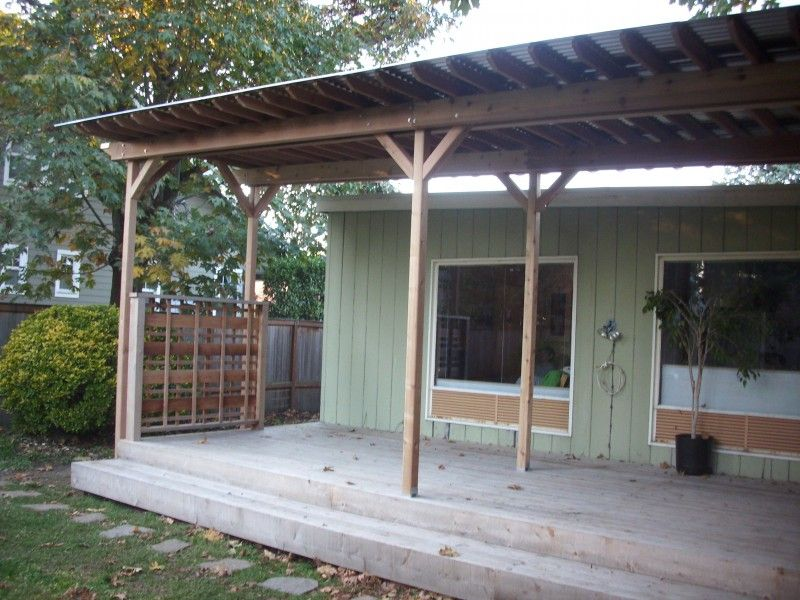 Corrugated Metal Deck Roof With Images