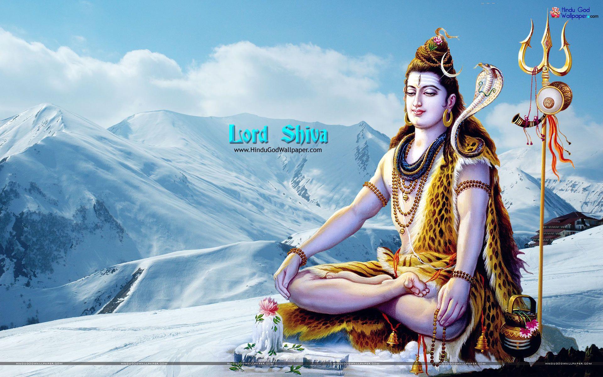 Hd wallpaper shiva - Lord Shiva Wallpaper Full Size Download