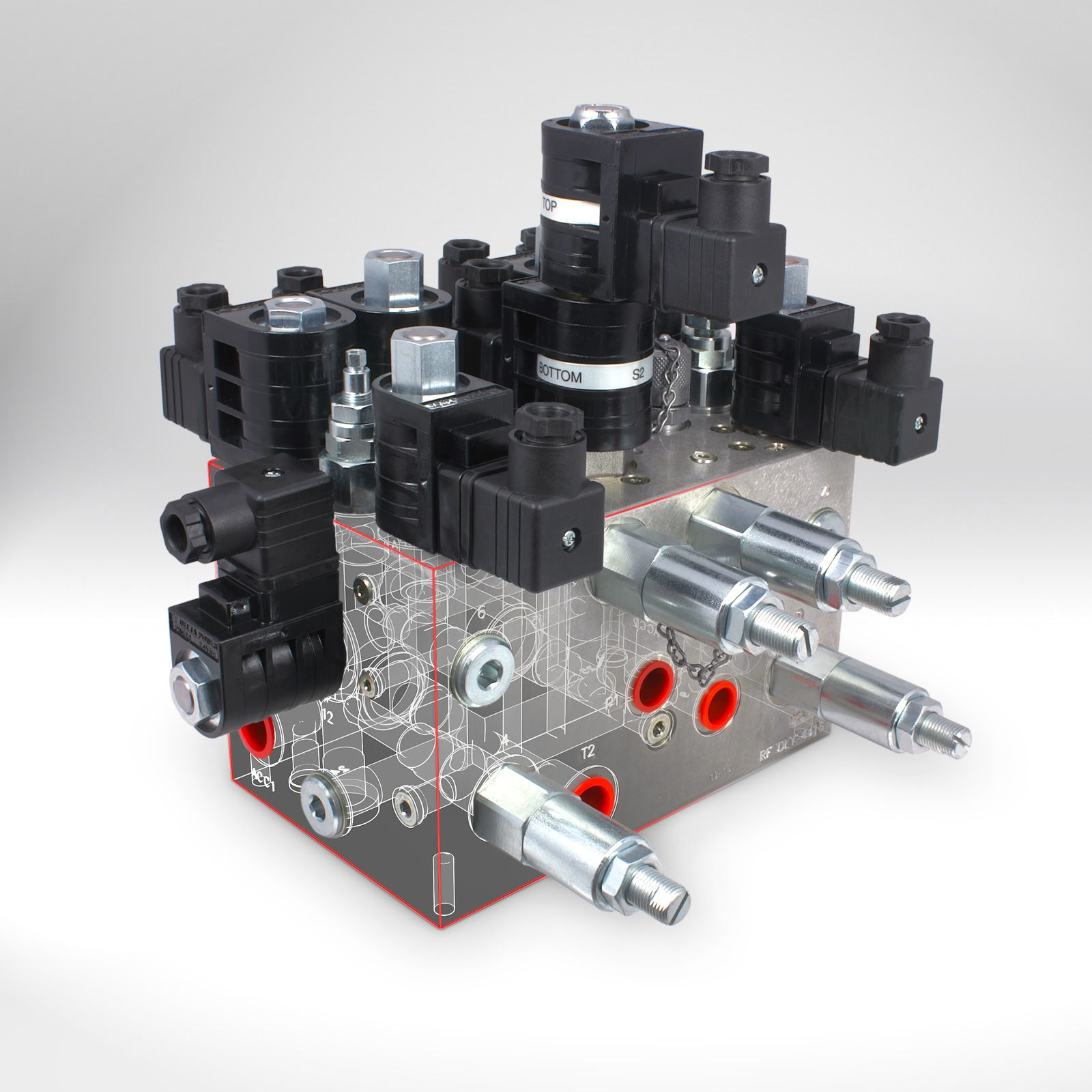 Hydraulic Manifold Control Assembly