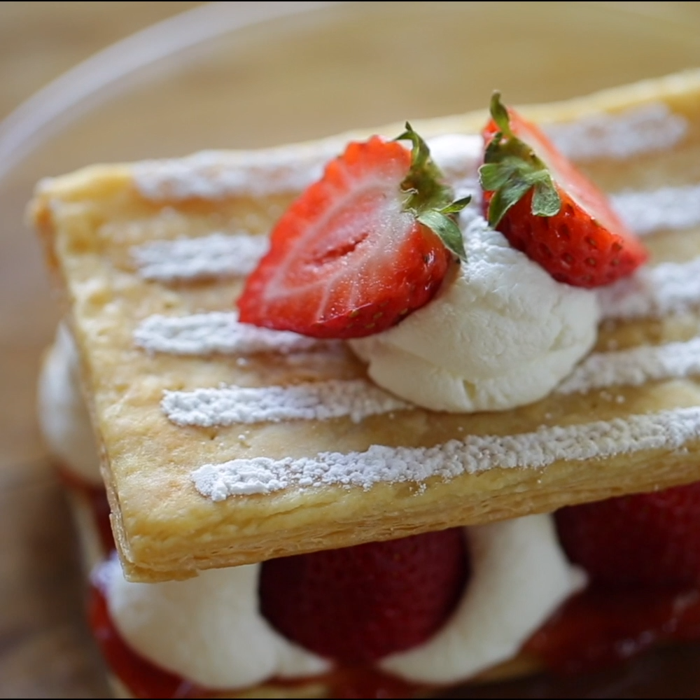 Strawberry Napoleons images