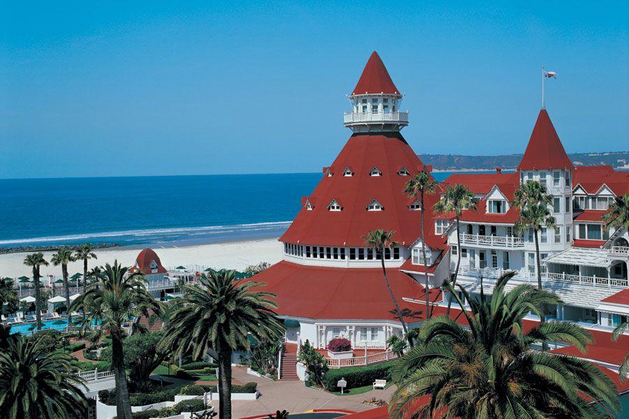 The Hotel Del Coronado: a world-famous hotel, right in San Diego.