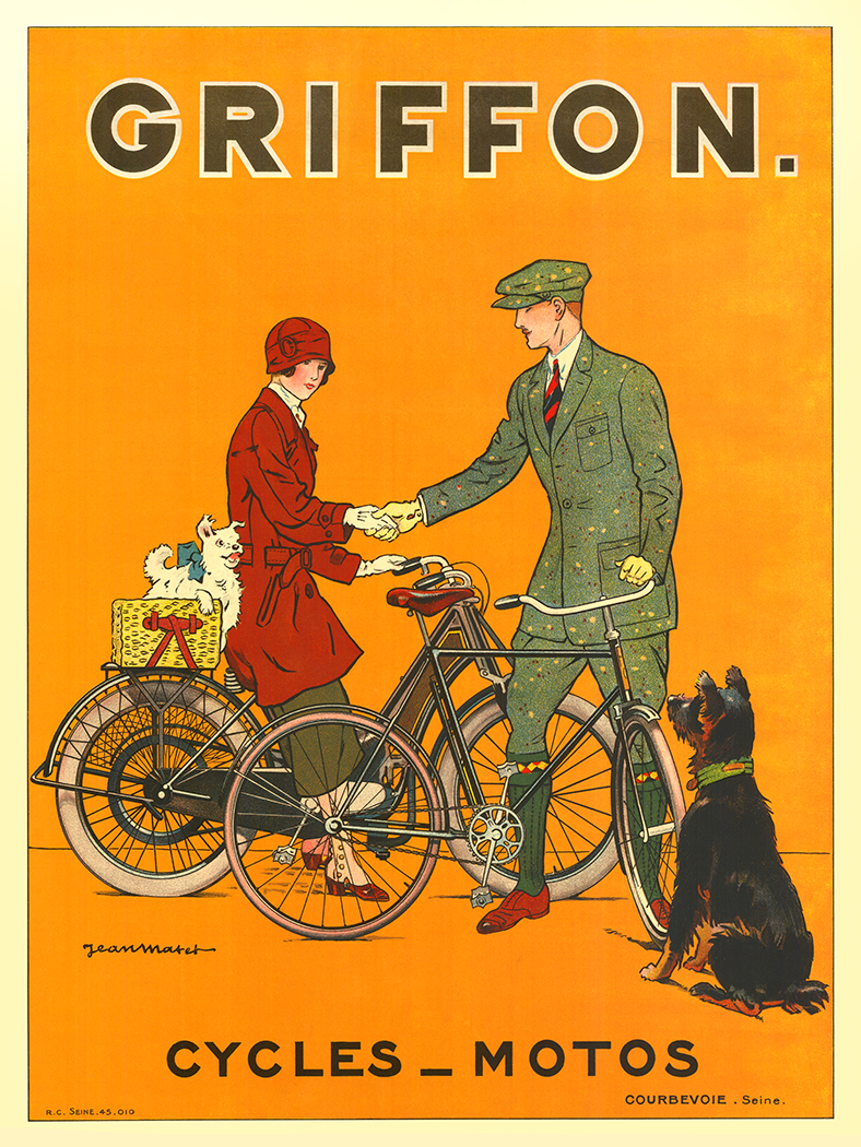 BICYCLE VINTAGE AD POSTER Meteor RARE HOT NEW