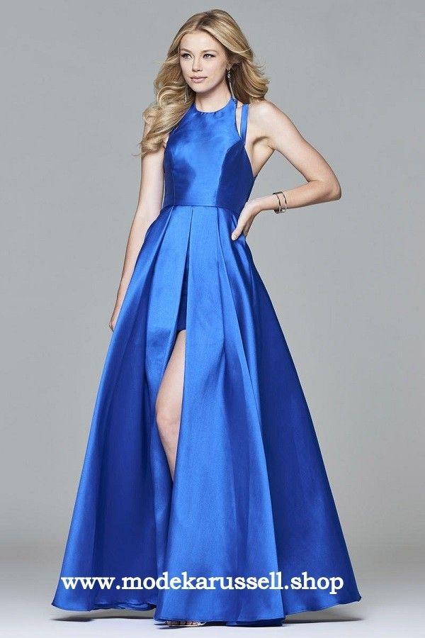 Cut Out Abendkleid Sophie in Blau | Ballkleider. Kleider.Schuhe ...
