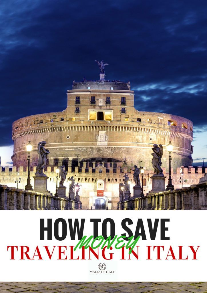 top tips for saving while seeing the sites of italy