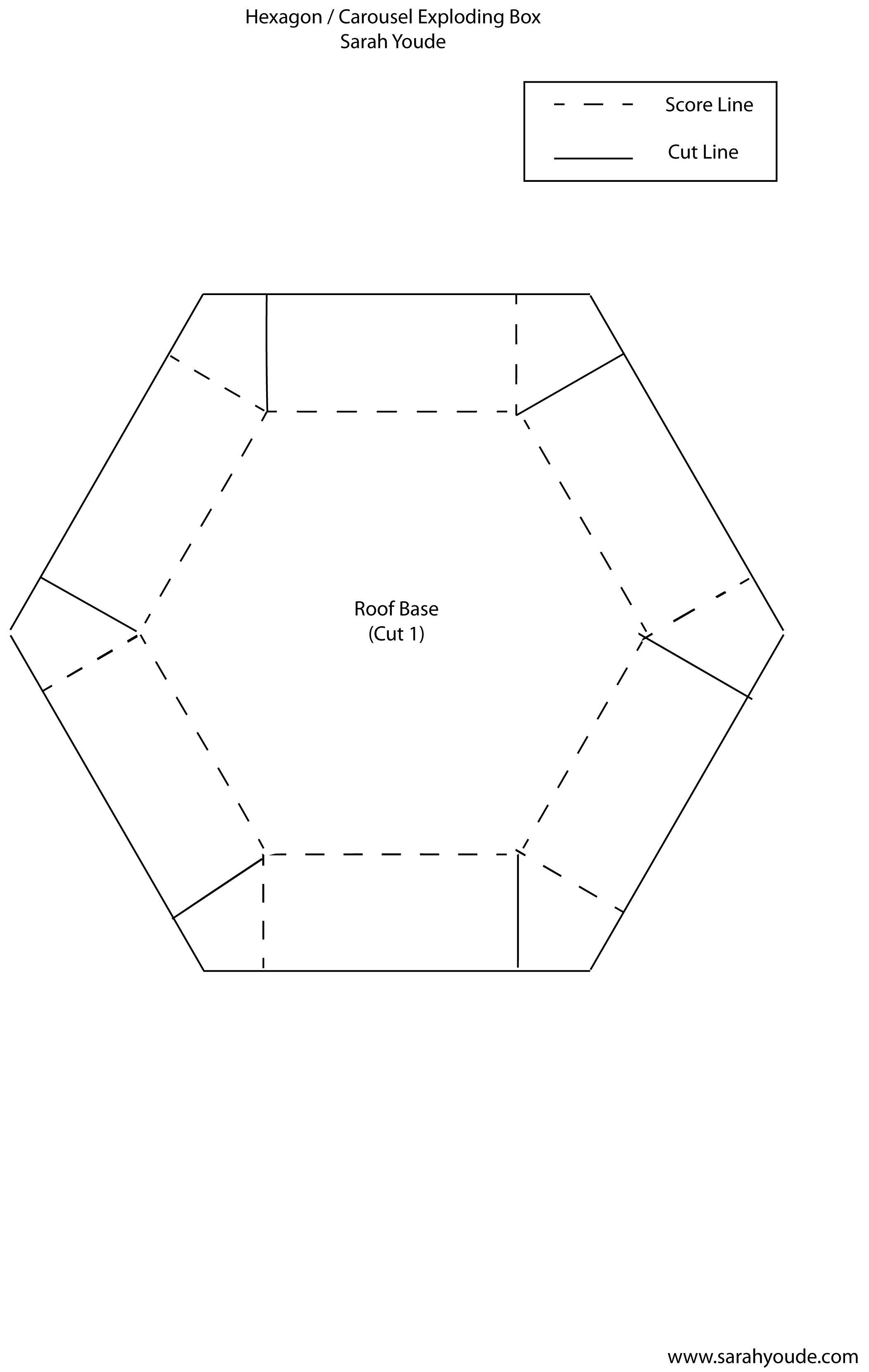 It's Me, Sarah: Exploding Hexagon Carousel Box - Video ... - photo#39