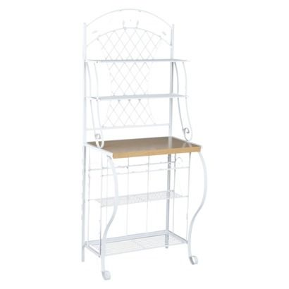 Trellis Baker S Rack White Obsessed With This Bakers Rack At