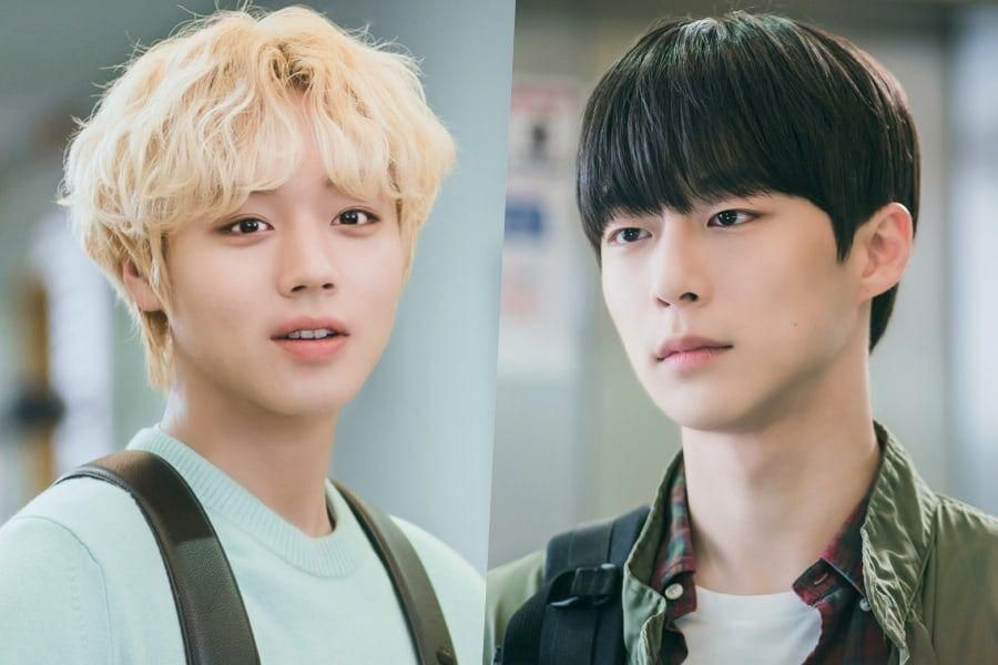 """Park Ji Hoon And Bae In Hyuk Are Complete Opposites In Upcoming Campus Drama """"At A Distance Spring Is Green"""""""