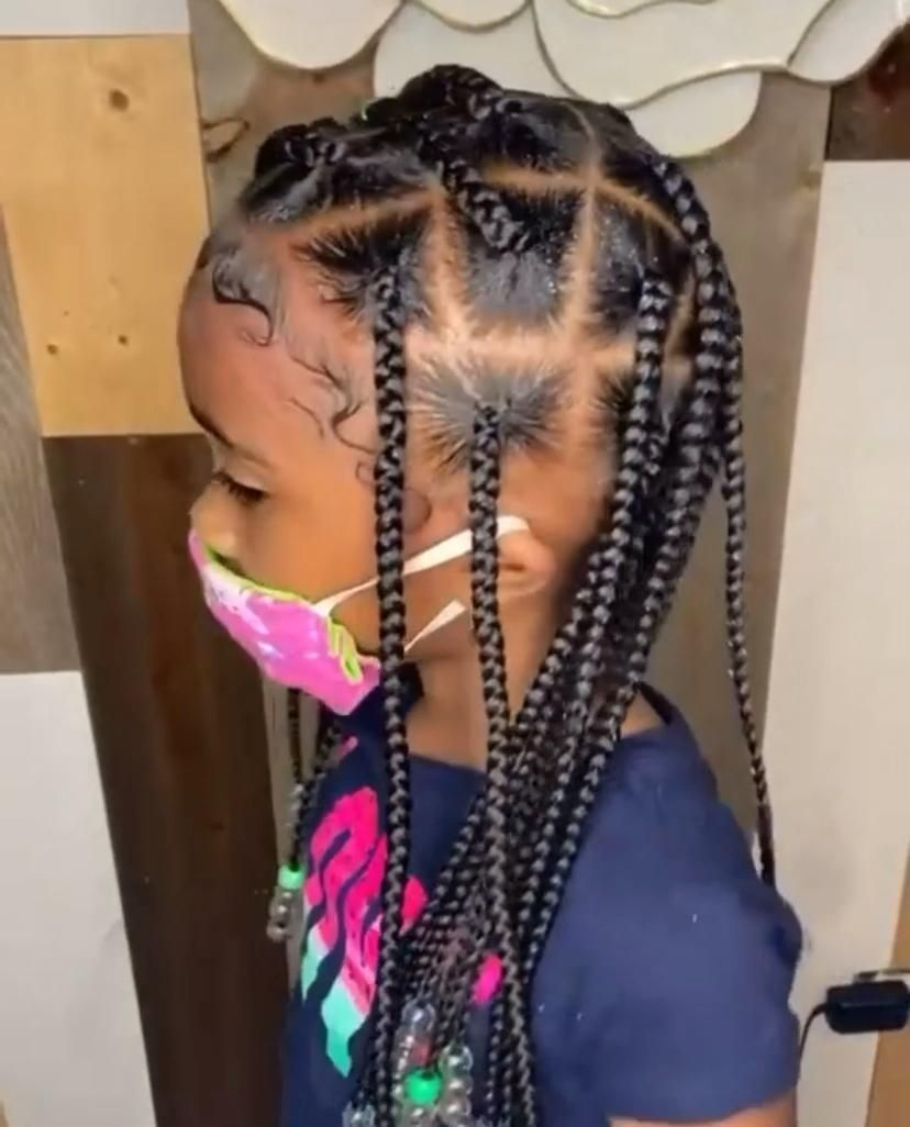 Summer Hair Styles For Kids In 2020 Lil Girl Hairstyles Kids Hairstyles Girls Black Kids Hairstyles