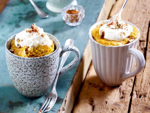 Unser beliebtes Rezept für Mikrowellen-Möhrenkuchen aus der Tasse und mehr als 55.000 weitere kostenlose Rezepte auf LECKER.de.