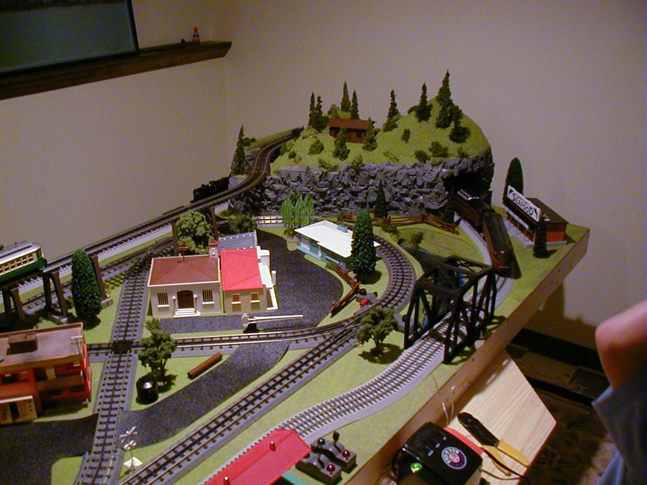 O Guage Layout Trains Pinterest Model Trains Layout