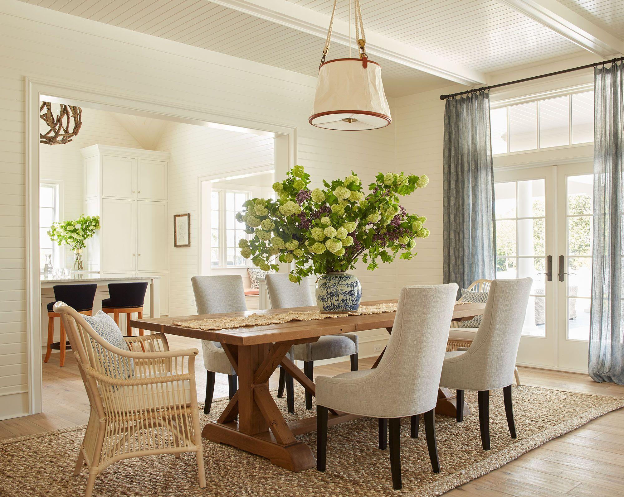 Best Andrew Howard Interior Design » Summer House Dining Design 400 x 300