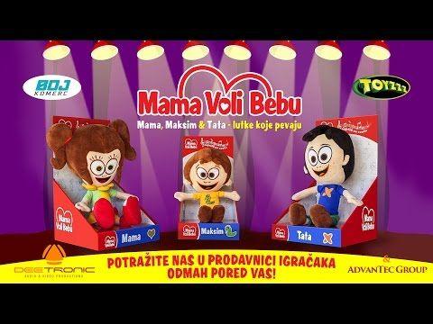 Mama Voli Bebu Lutke Tv Reklama X2f Mommy Loves Baby Dolls 2017 Youtube Baby Dolls Frosted Flakes Cereal Box Frosted Flakes Cereal