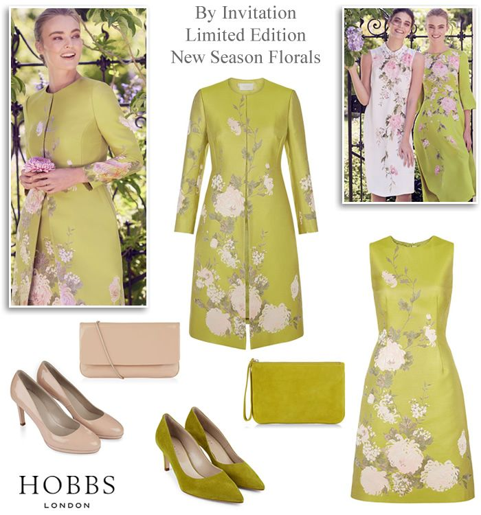 5082a1b226e2 Hobbs occasion wear 2018 dress and matching coat Mother of the Bride outfits  and wedding fashion