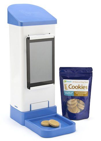 Shark Tank Products Icpooch Video Chat With Dog Pet Treats Dog