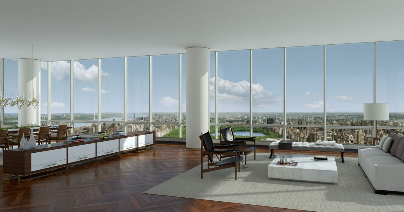 Attractive One57 Penthouse Most Expensive Manhattan Penthouse Ever