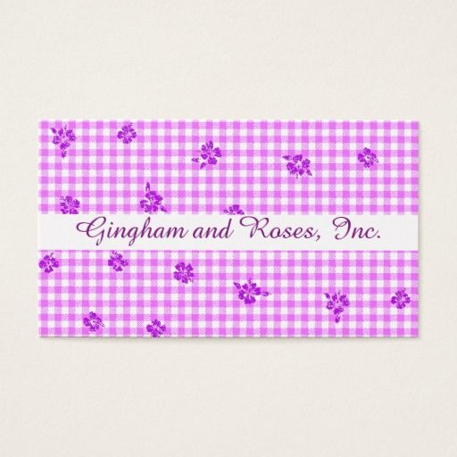 Gingham and Roses 5