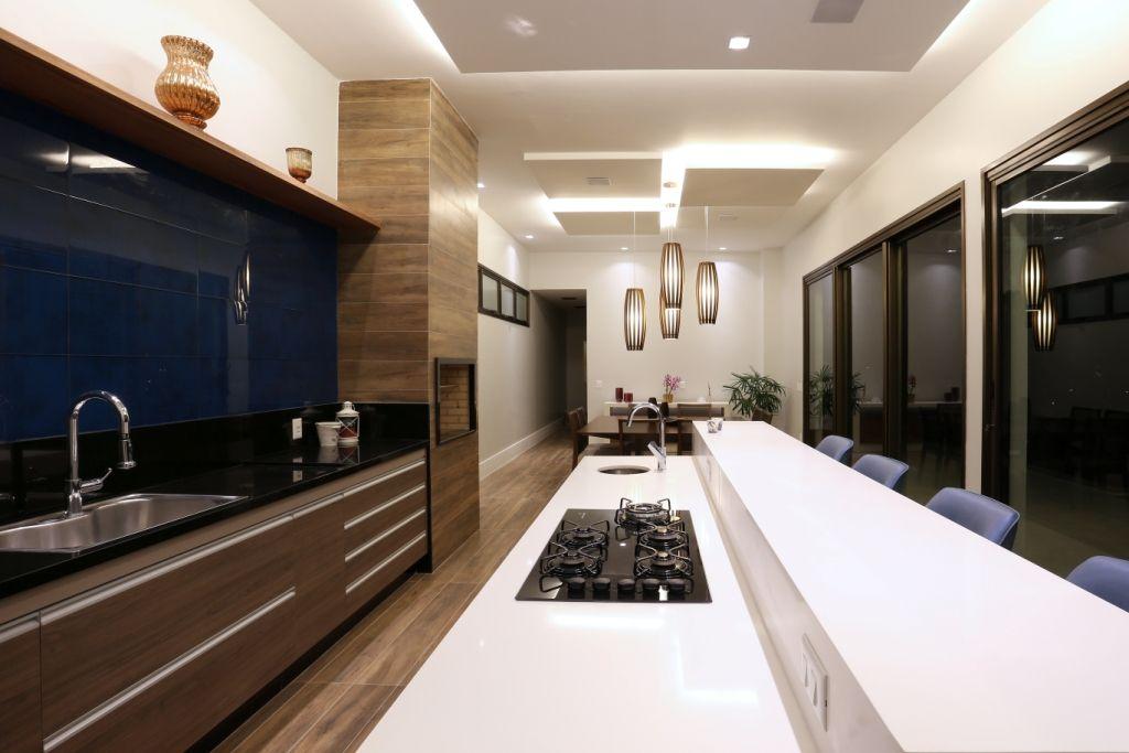 Residencia Lhr Cozinha Gourmet Espaco Gourmet Area De Lazer