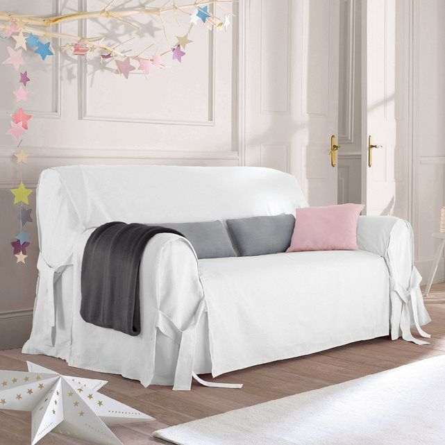 Other Image JIMI Linen/Cotton Sofa Cover La Redoute Interieurs