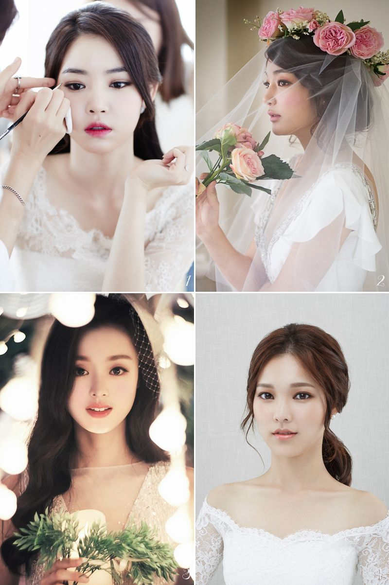 6 Korean Bridal Hair & Makeup Style Trends You Must Know! | Bridal ...