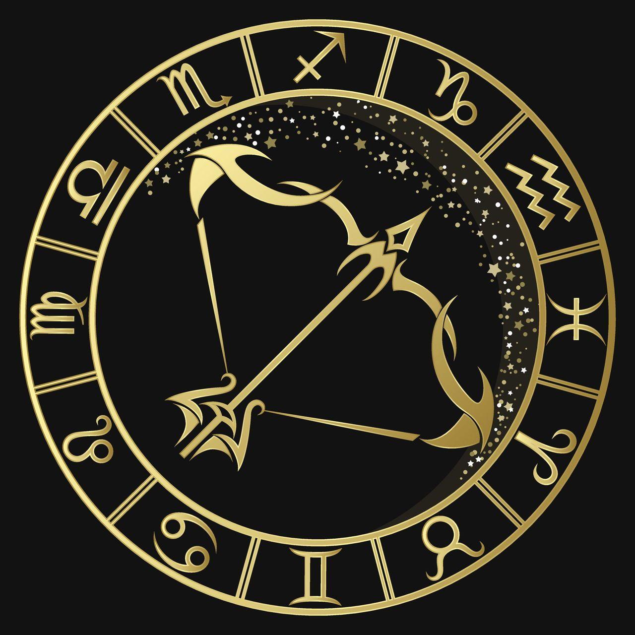 Golden Sagittarius Zodiac Sign Sagittarius Zodiac Sagittarius Zodiac Signs