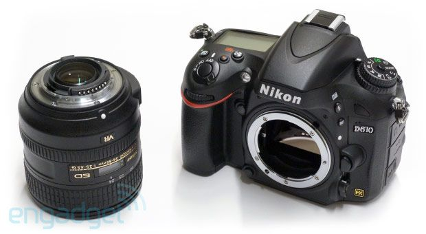 Nikon S Full Frame D610 Dslr Is A Minor Step Up From The D600 We Go Hands On Photography History Of Photography Camera