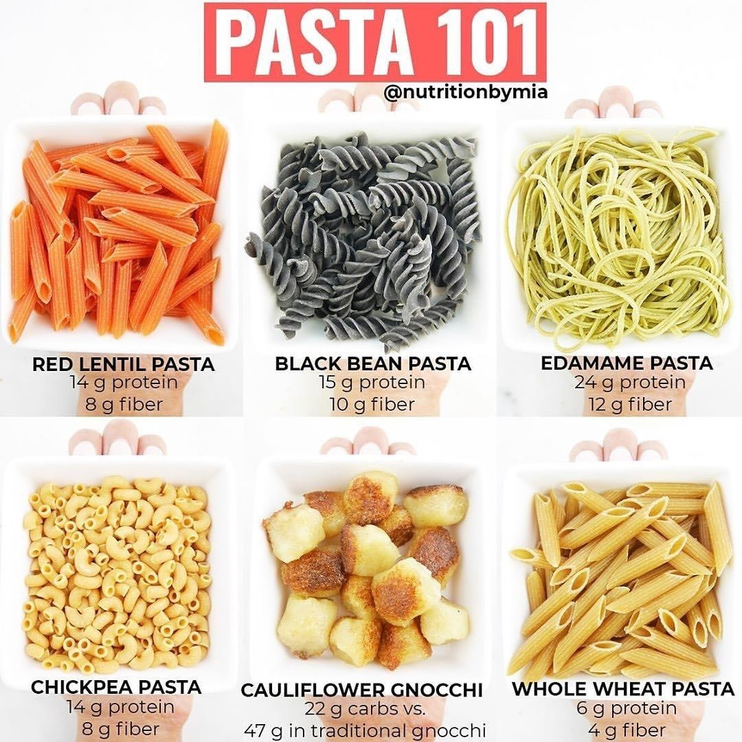 Hello Pasta Lovers Try These Lower Carb 038 Higher Protein