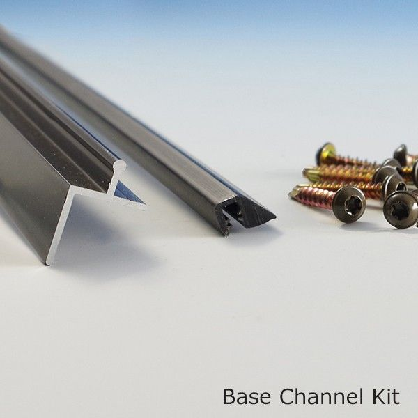 SCREENEZE® Base Channel Kit in Bronze $21.25 ea (we would need 15)